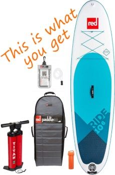Red Paddle Co 10'6 Ride MSL iSUP Package