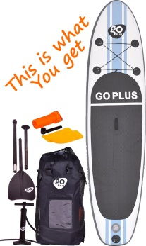Goplus 10' iSUP Cruiser Package