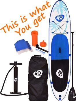 Goplus 11' iSUP Board Package