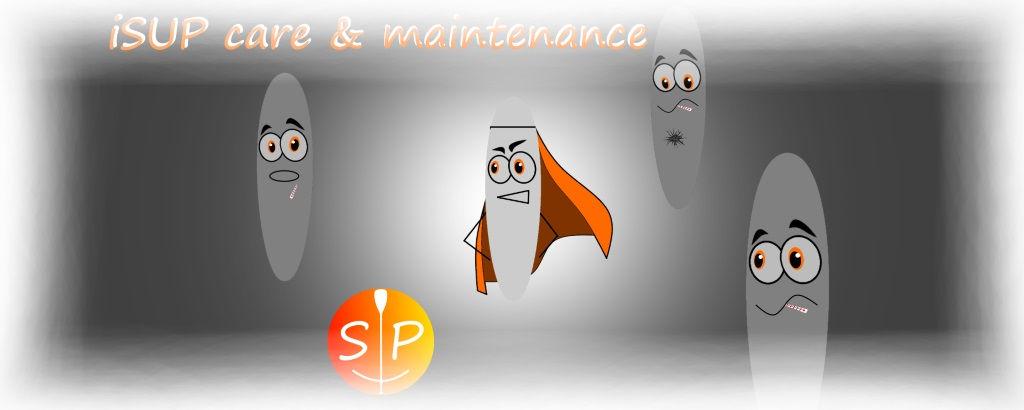 iSUP care and maintenance