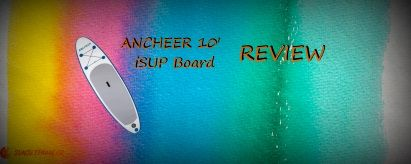 (Blue AS09) ANCHEER 10′ iSUP Review (2019)