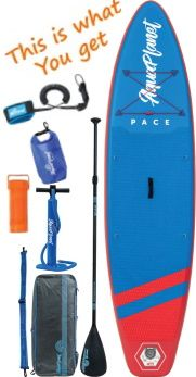 Aquaplanet 10ft 6 Pace iSUP Package