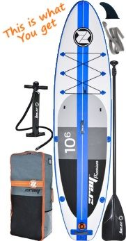 Z-Ray A2 10'6 iSUP Board Package