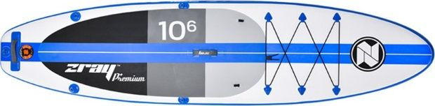 Specifications of the Zray A2 10'6 iSUP Board