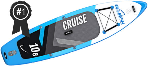 #1 Best Cheap Bluefin Cruise 10'8 Inflatable Stand Up Paddle Board