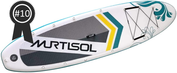 #10 Best Cheap Murtisol Pro 10.5 Inflatable Stand Up Paddle Board