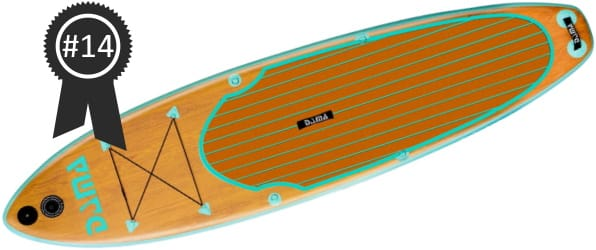 #14 Best Cheap DAMA 10'6 Inflatable Stand Up Paddle Board