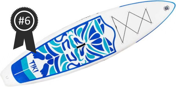 #6 Best Cheap - FunWater Tiki Cruiser 10'6 iSUP