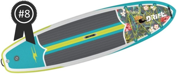 #8 Best Cheap Bote Drift 10'8 Inflatable Stand Up Paddle Board