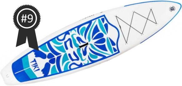 #9 FunWater Tiki Cruiser 10'6 iSUP Board