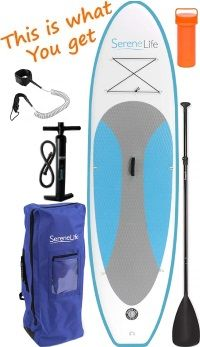 SereneLife 10' iSUP Board Package