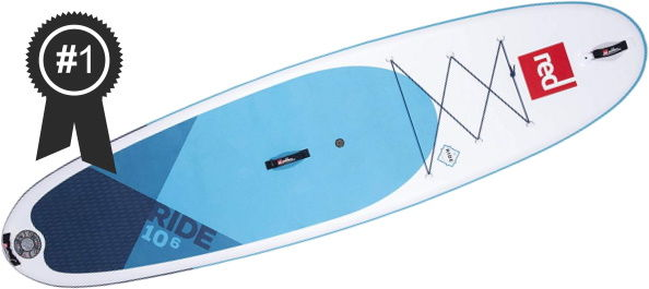 #1 Red Paddle Co 2020 10'6 iSUP Board