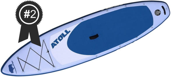 #2 Best: Atoll 11' Inflatable Stand Up Paddle Board