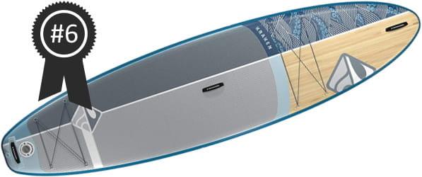 #6 Best: Boardworks SHUBU Kraken 11' Inflatable Stand Up Paddle Board