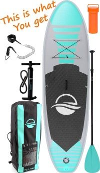 SereneLife Premium 10'5 iSUP Board Package