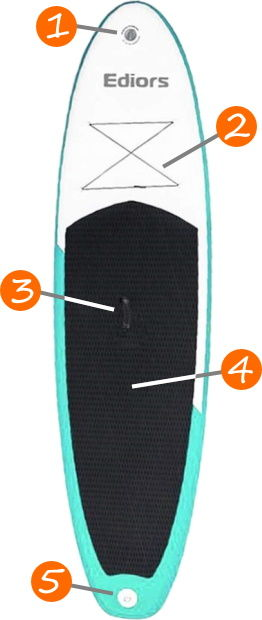 Sudoo 9'10 iSUP Board Features