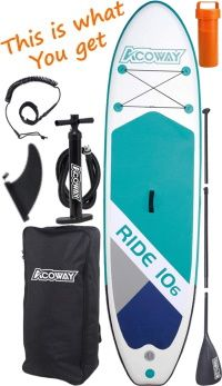 Acoway 10'6 iSUP Package
