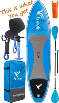 Freein 10'6 iSUP Package Illustration