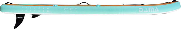 How Does the DAMA 9'6 Inflatable SUP Board Perform?